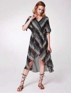 Alisa Pan Wrap Dress