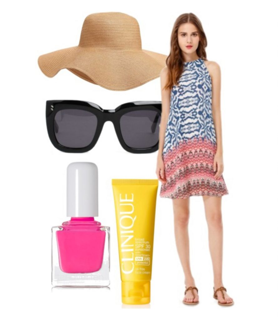 beach ready chic look for summer