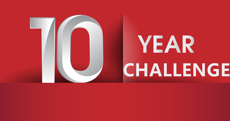 Ten-year-challenge