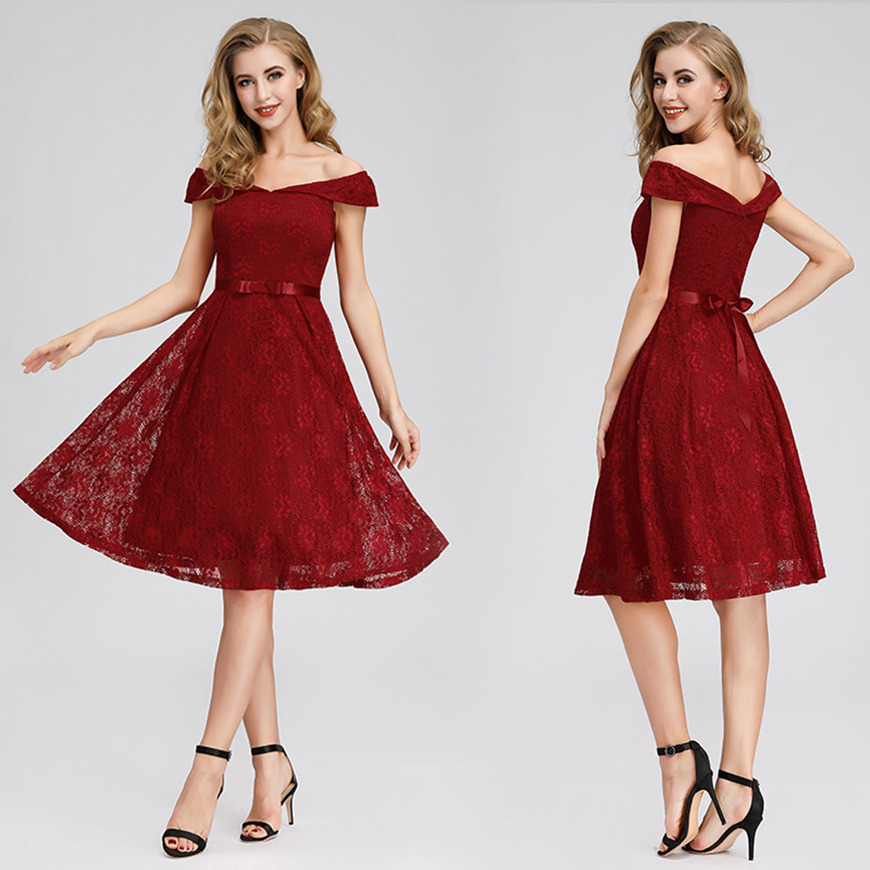 a-red-lace-dress