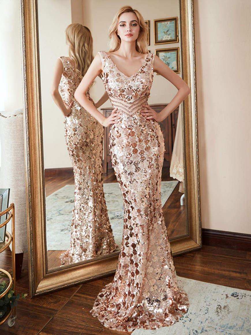 a-rose-gold-sequin-dress