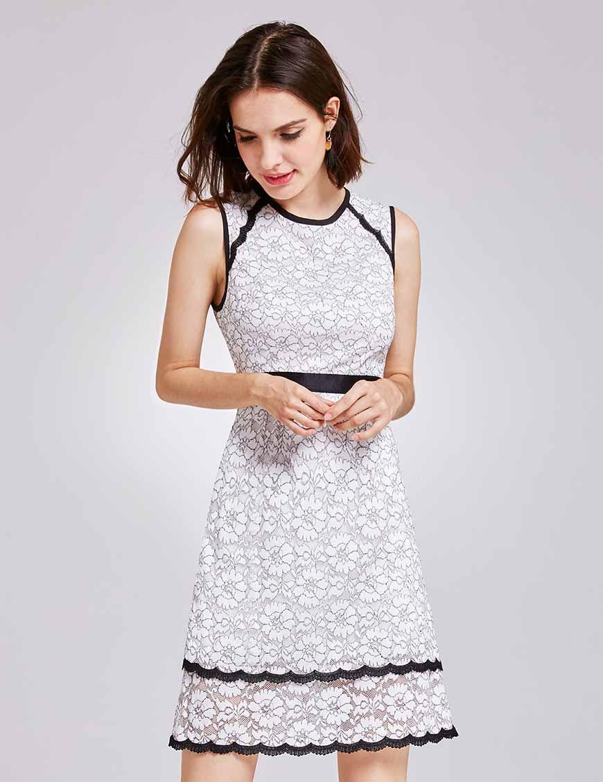 white-cocktail-dress