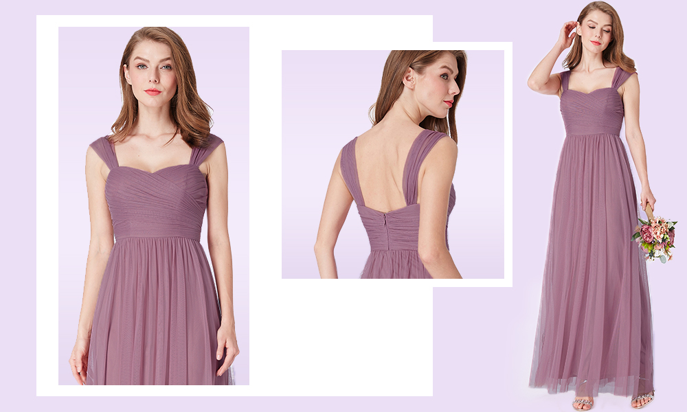Long-Purple-Bridesmaid-Dress-with-Ruched-Bust