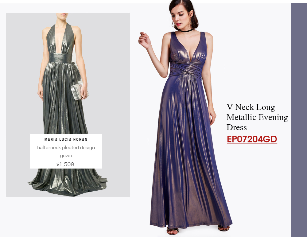 Long-Metallic-Pleated-Design-Dresses