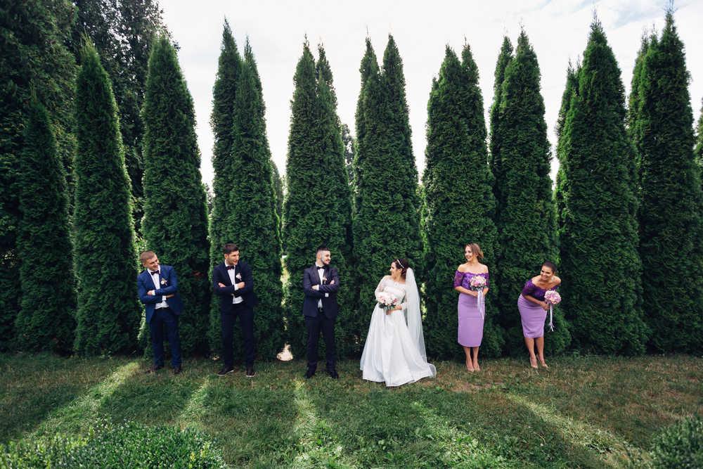 elegant-purple-bridesmaid-dresses