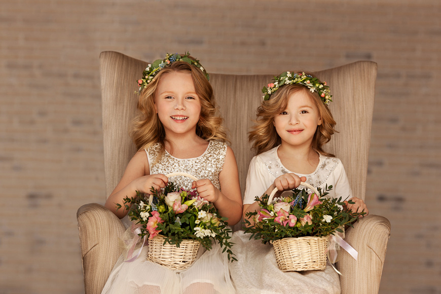 two-flower-girls