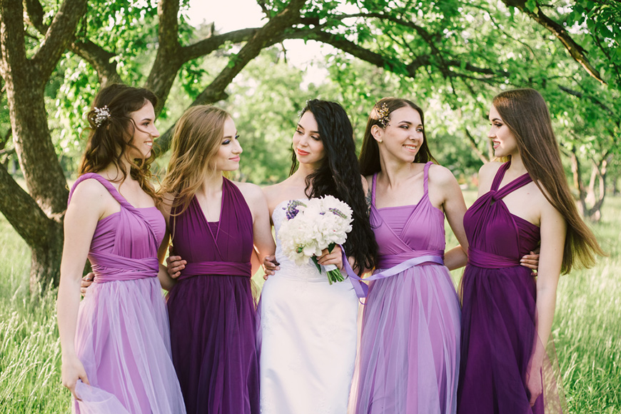 purple-bridesmaid-dresses