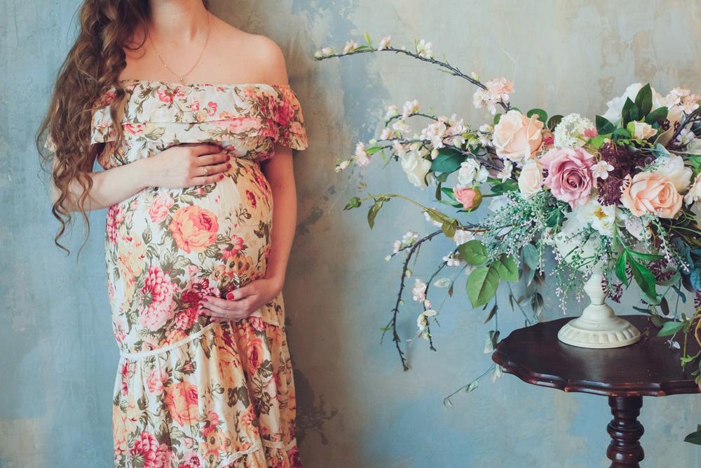 Maternity-Bridesmaid-Dress