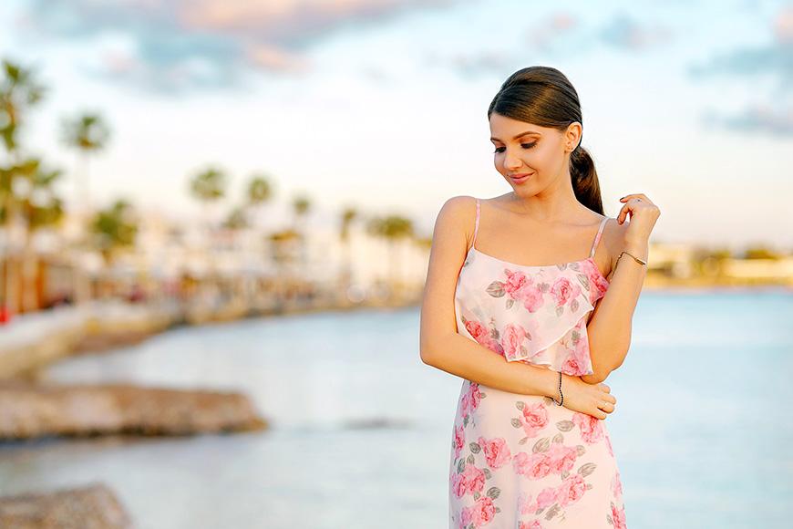 Larisa Costea Pink Peony Looks