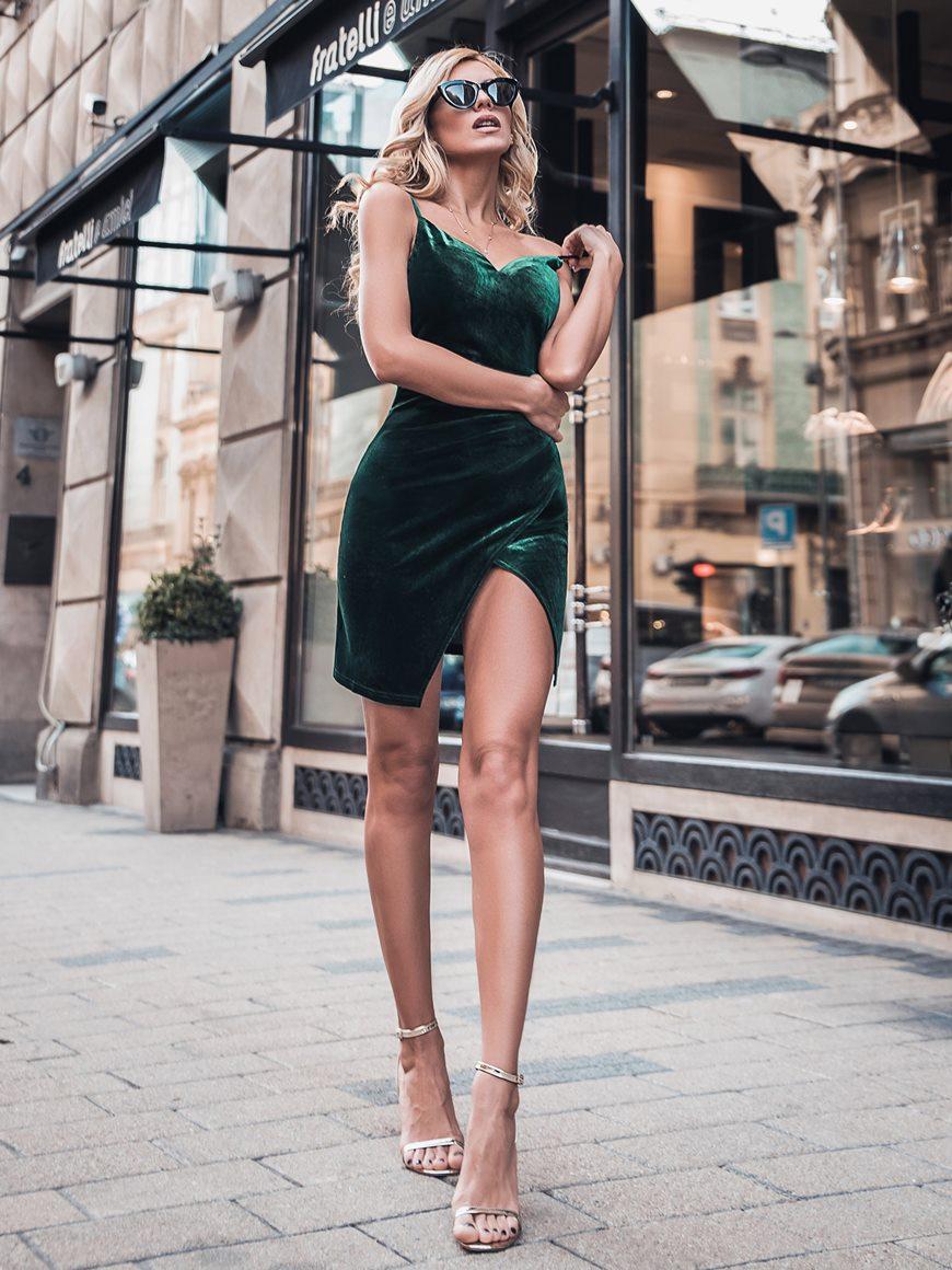dark-green-velvet-dress
