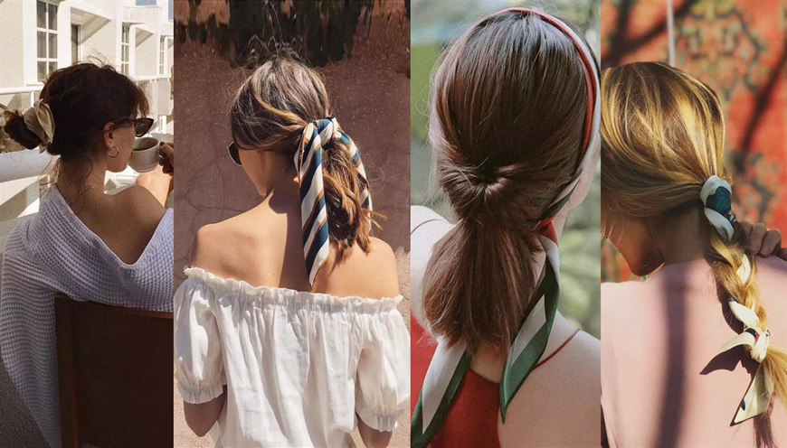 How To Tie A Scarf To Upgrade Your Hair Style