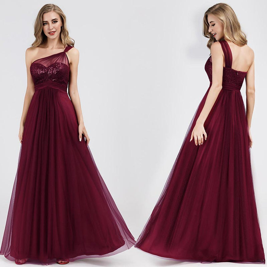 a-burgundy-dress