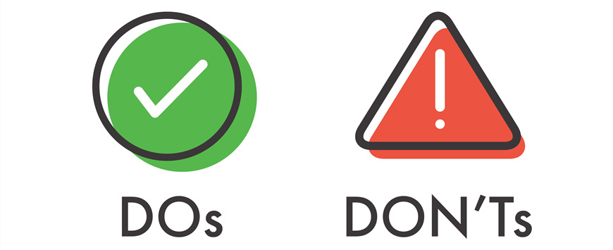 Do-and-Dont-icons