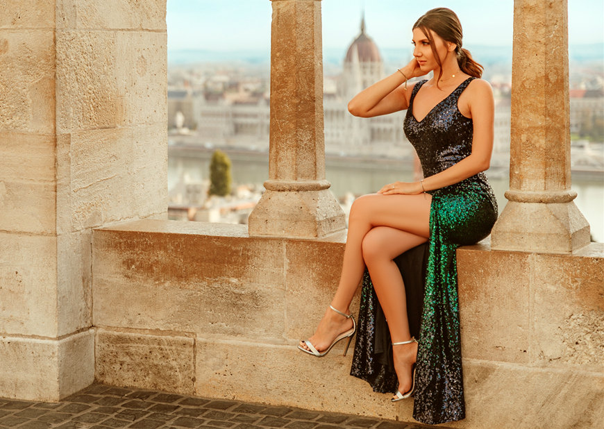 a-green-sequin-evening-dress