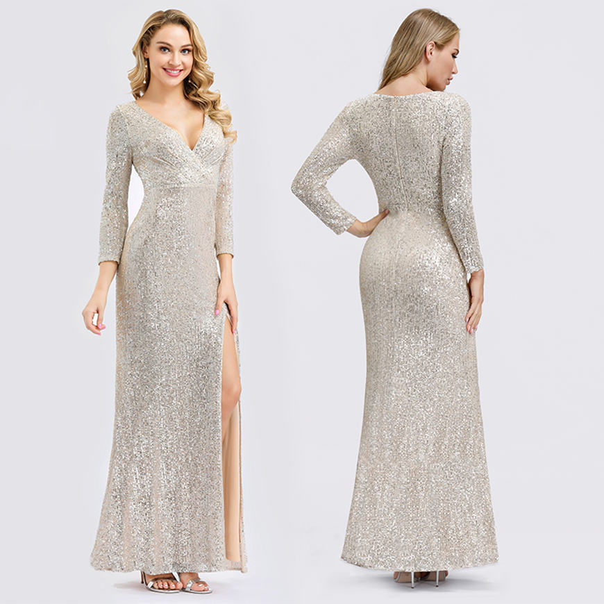 a-silver-sequin-dress