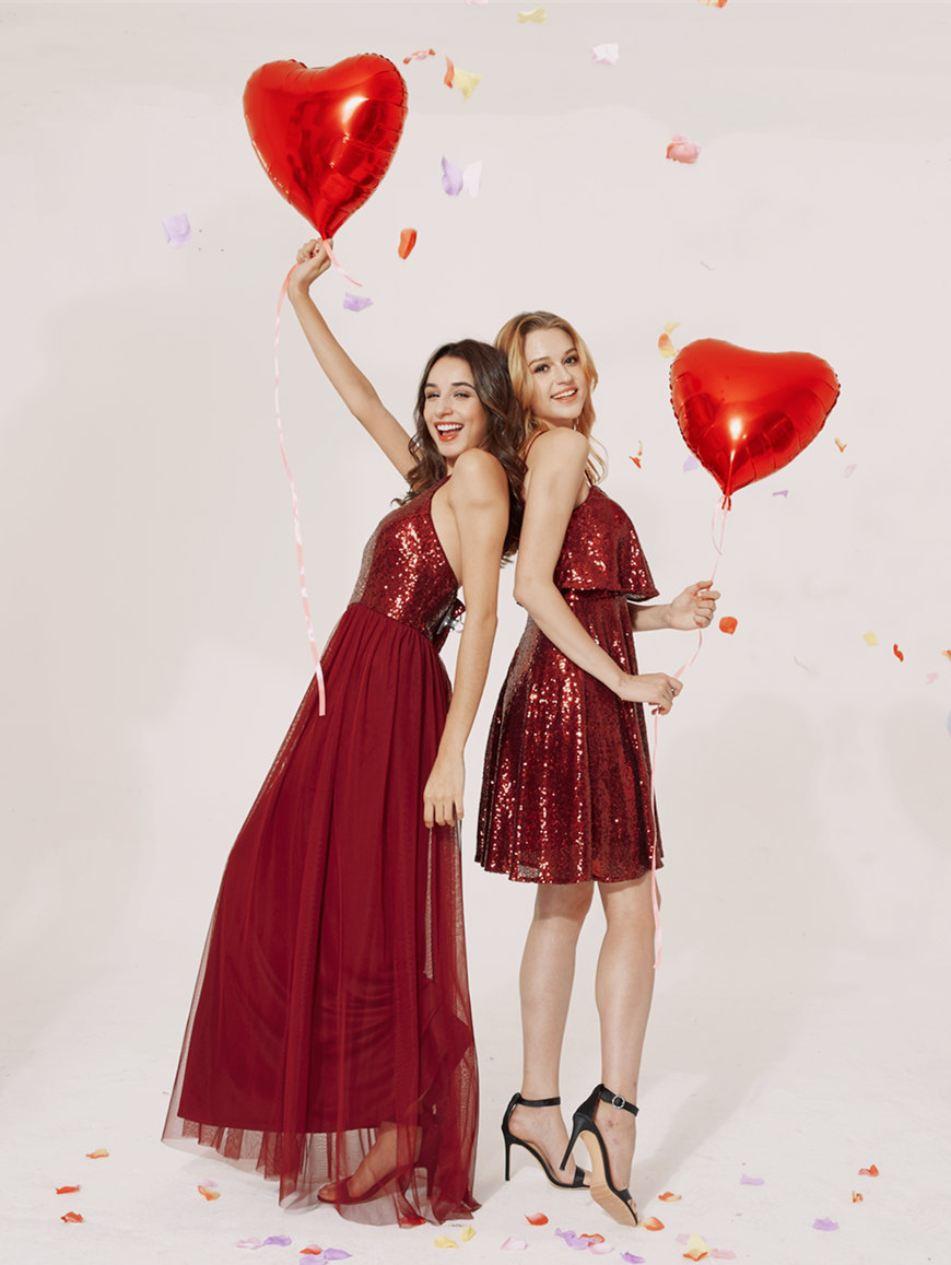 two-young-women-wears-red-prom-dresses