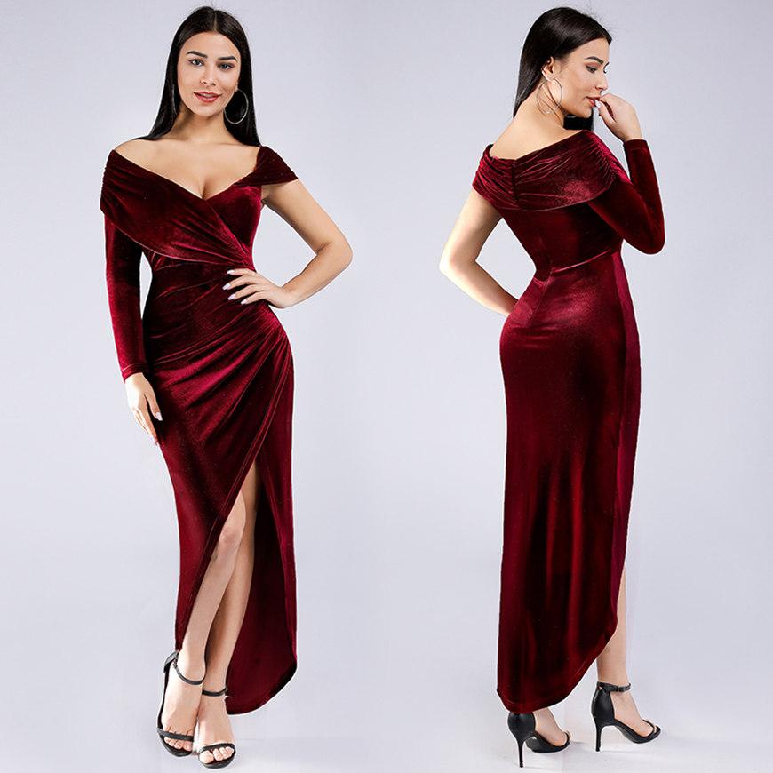 a-burgundy-velvet-dress