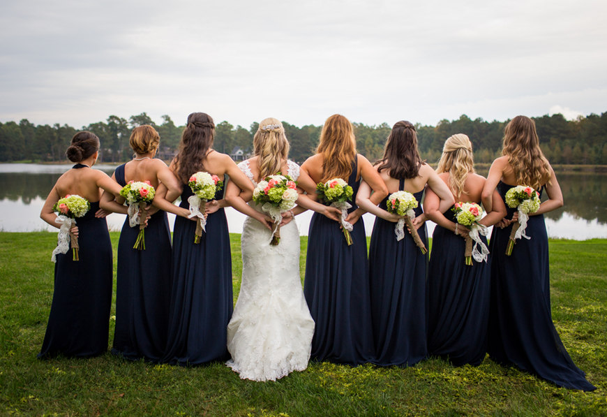 sexy-navy-blue-bridesmaid-dresses