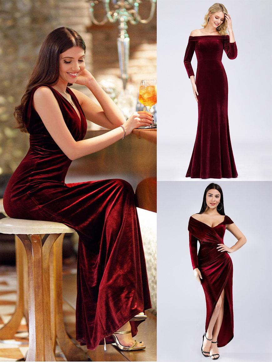 sexy-velvet-dresses