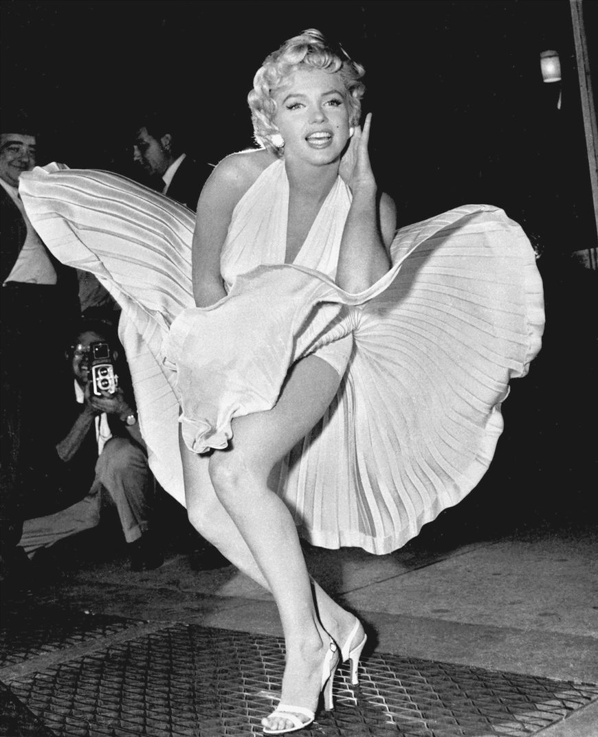 Marilyn-Monroe-photo-pose-Seven-Year-Itch