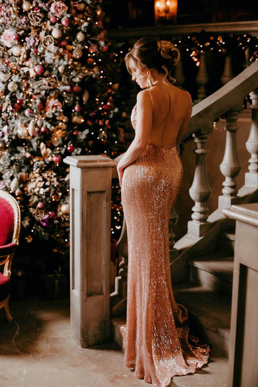 a-sexy-pink-sequins-dress