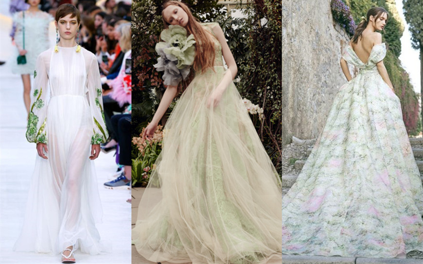 green-wedding-dresses