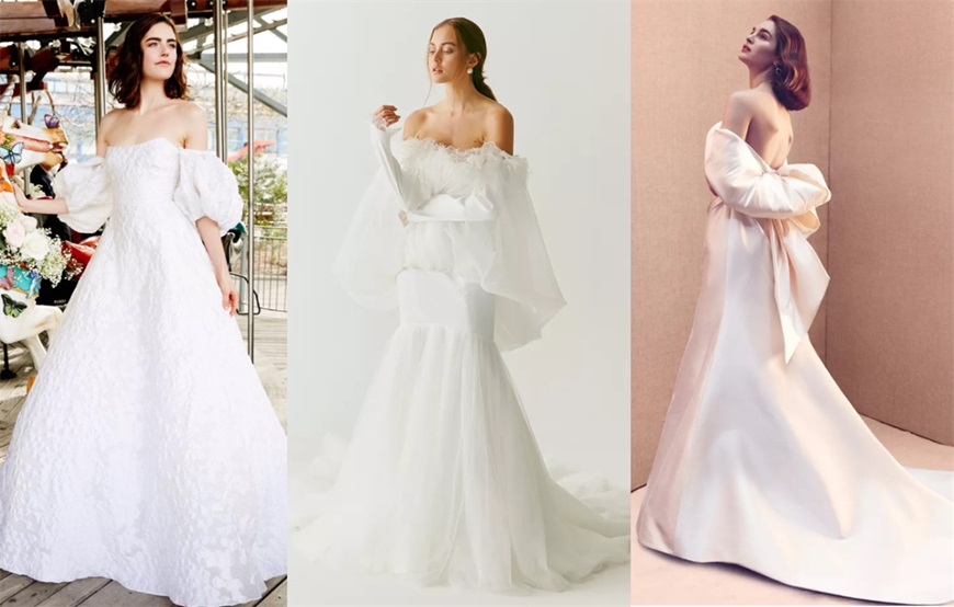 puff-sleeves-wedding-dresses