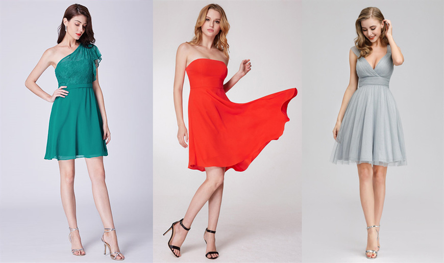 short-bridesmaid-dresses