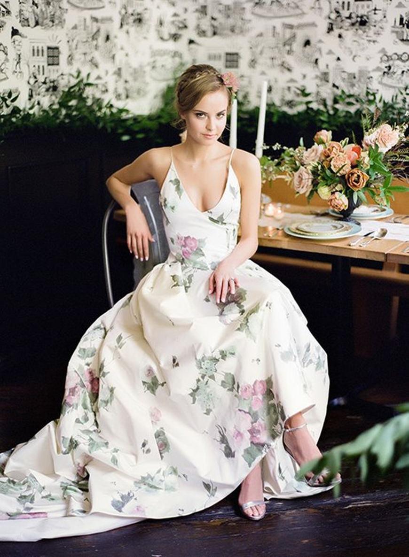 a-floral-prints-wedding-dress