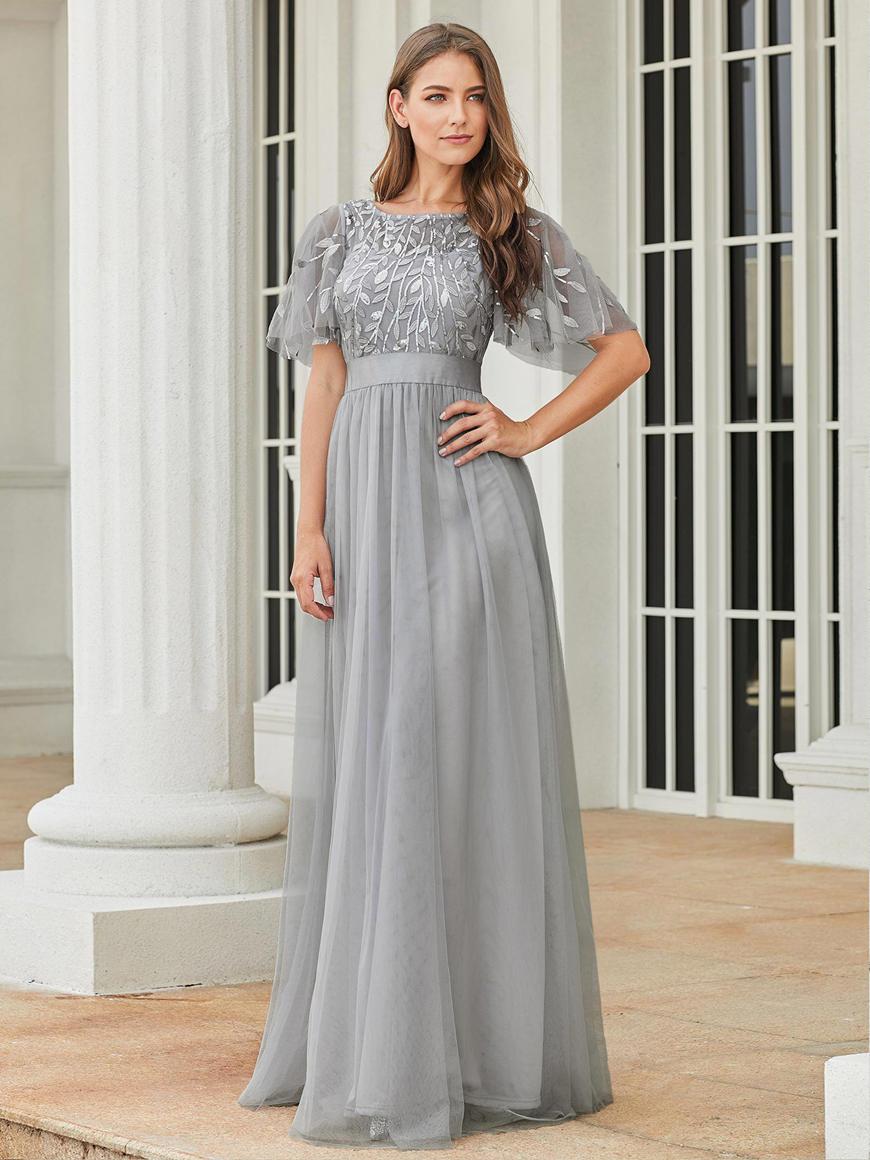 a-grey-bridesmaid-dress