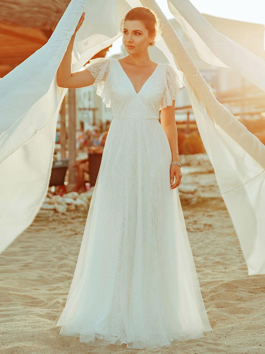 a-ruffle-style-wedding-dress