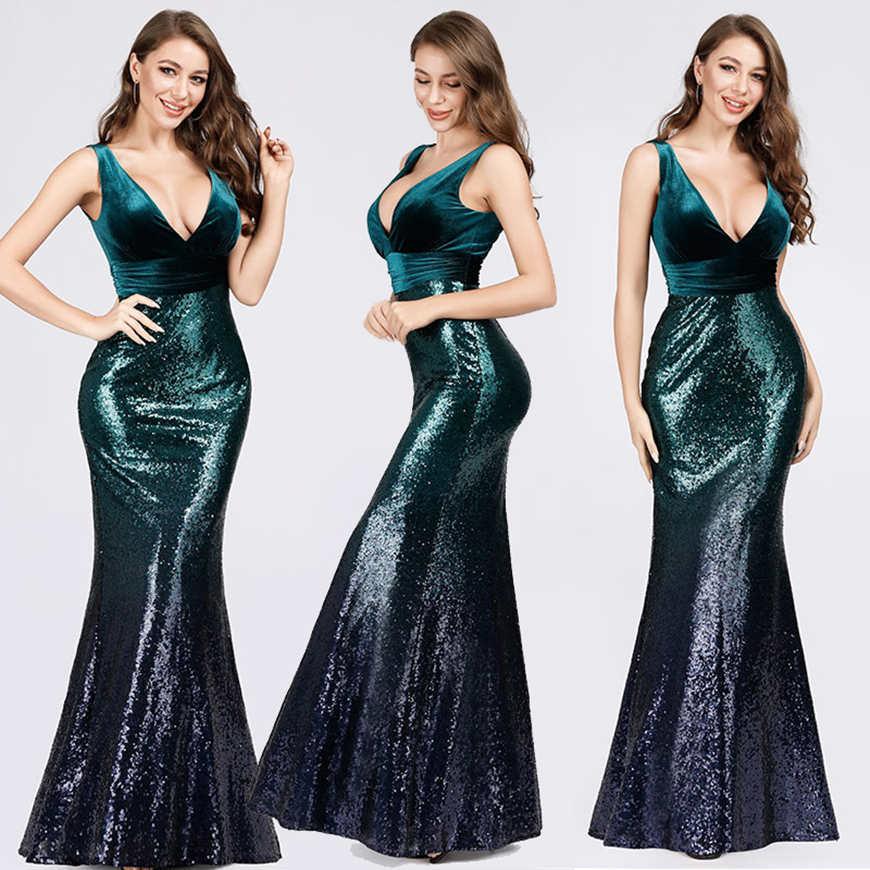 a sparkling sequin dress