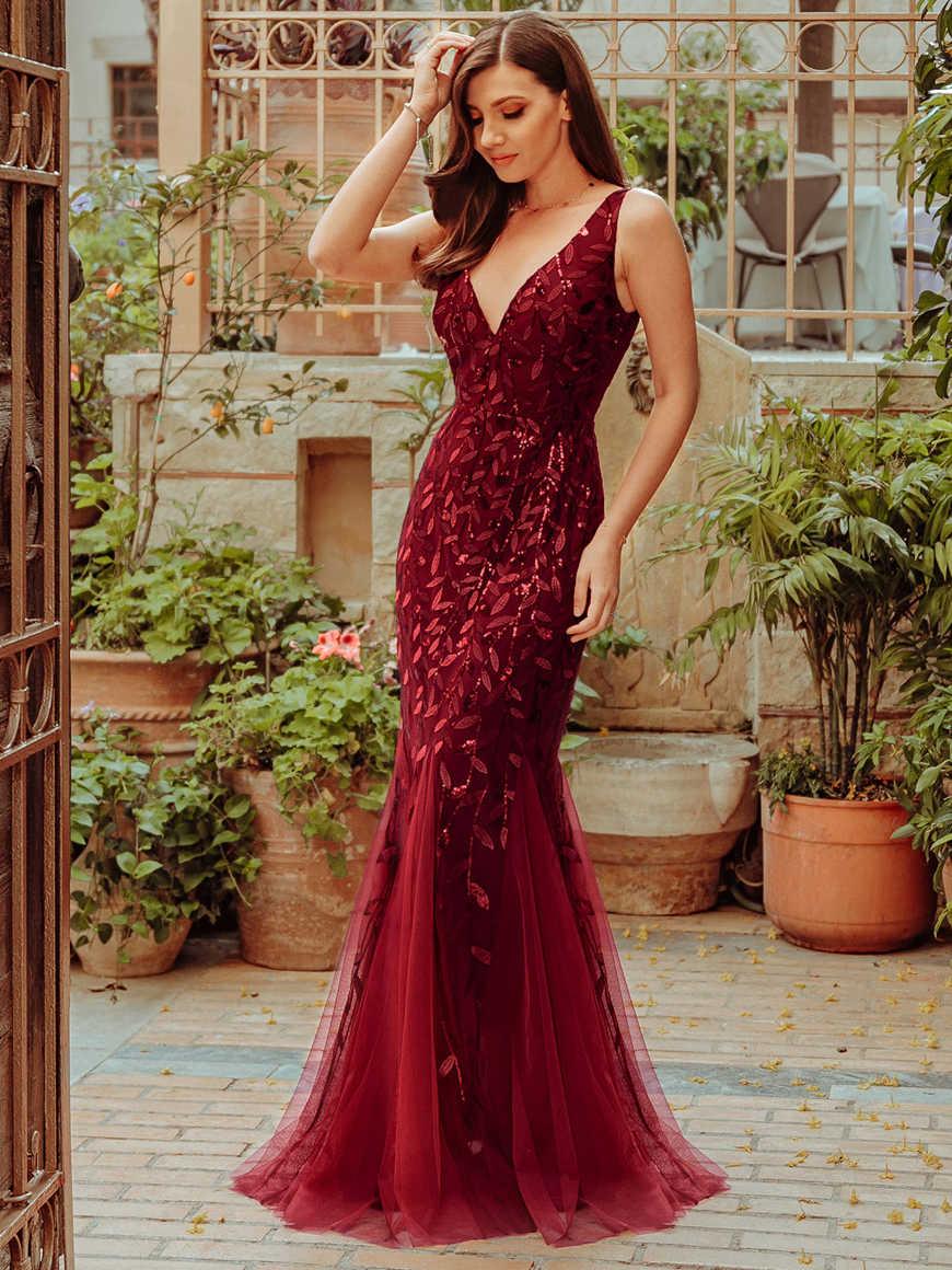 an elegant evening gown