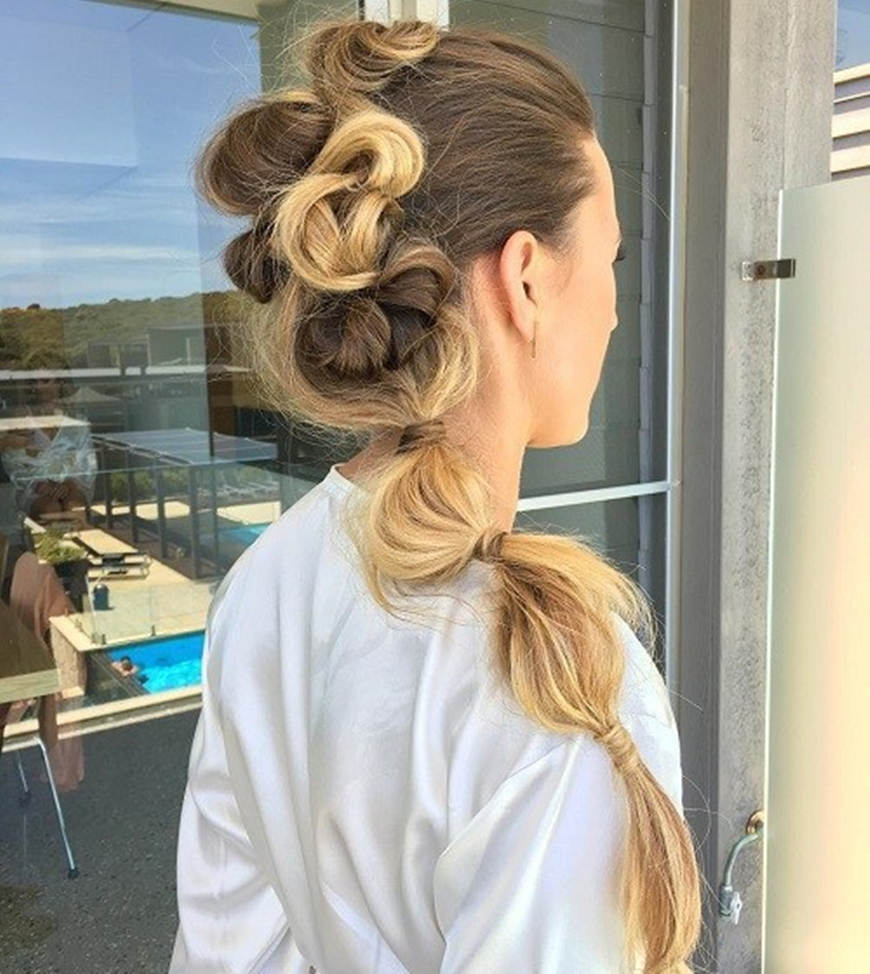 bubble-ponytail-with-twists