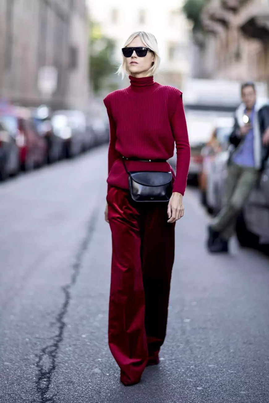 burgundy-sweater-and-trousers