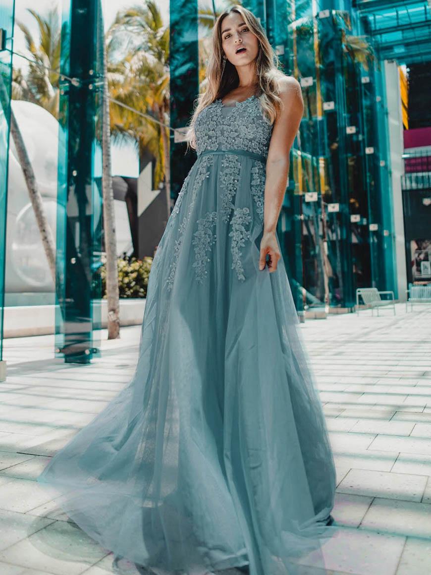 dusty-blue-tulle-dress