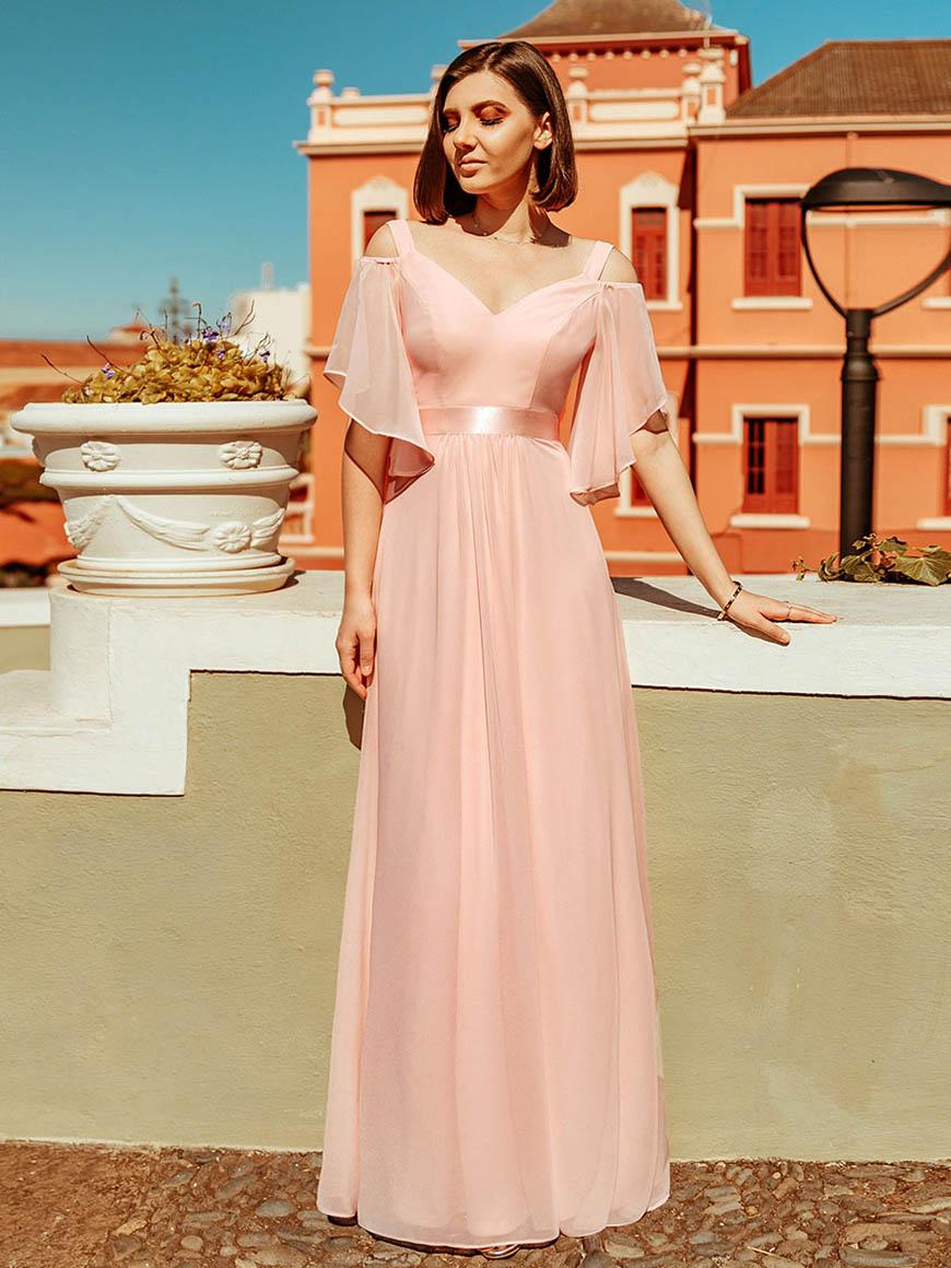 elegant-pink-maxi-dress