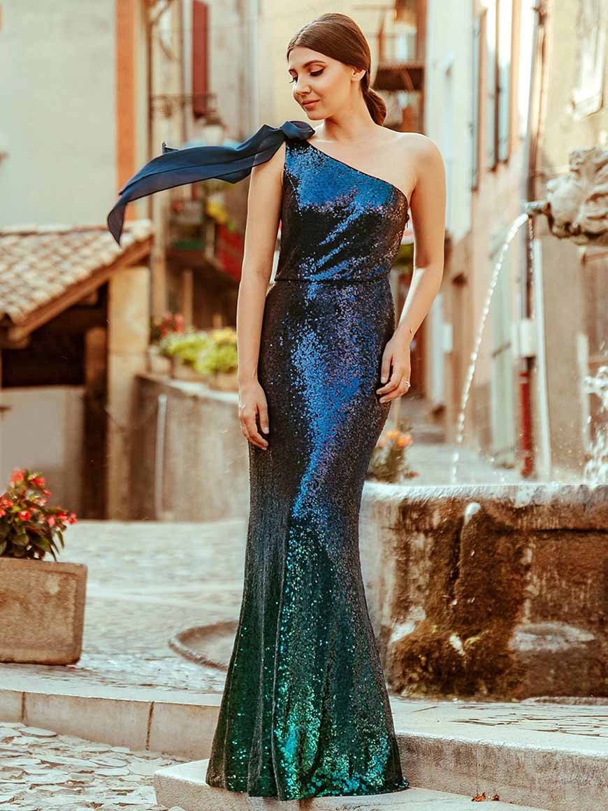 one-shoulder-sequin-party-dress