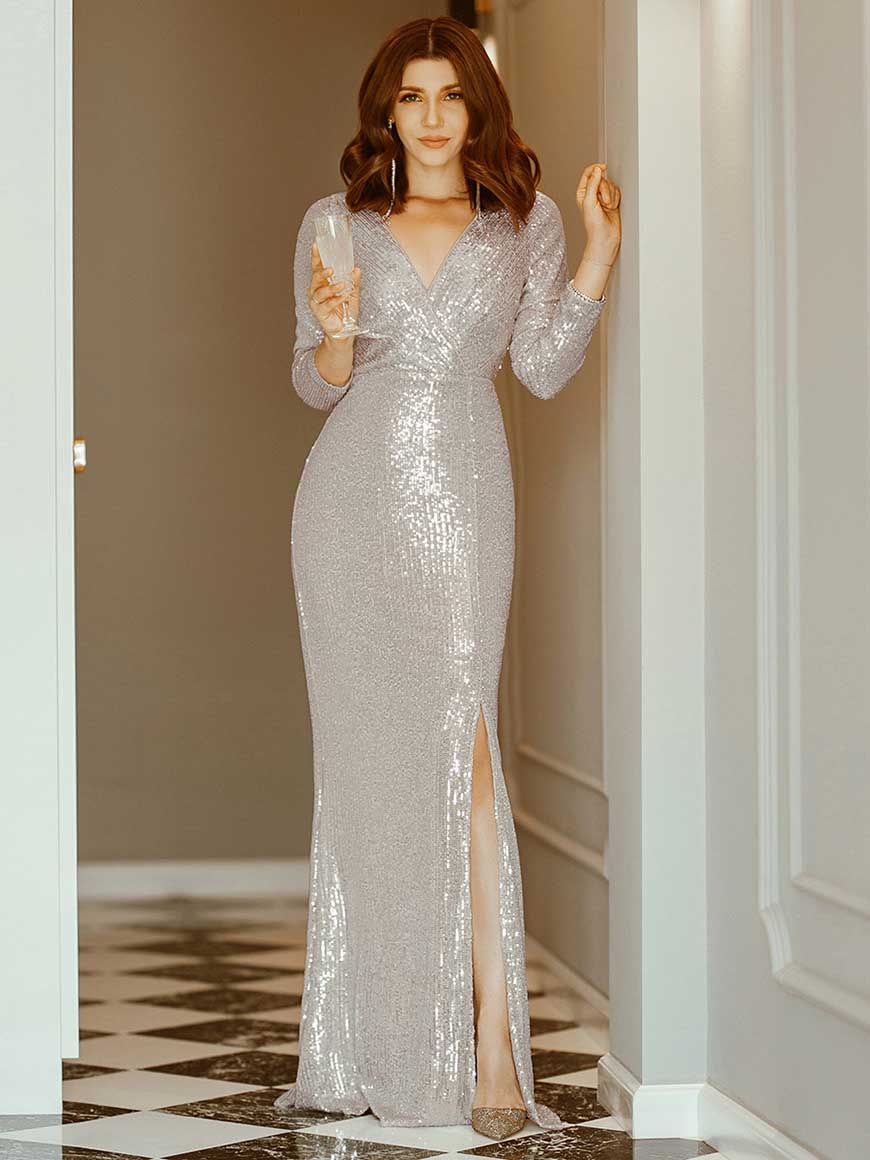 rose-gold-sequin-evening-gowns