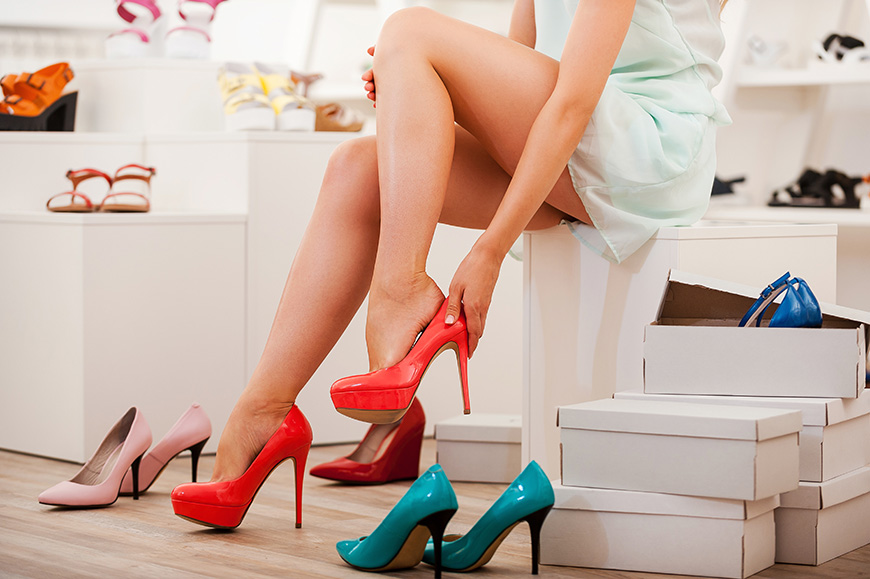 several-high-heels