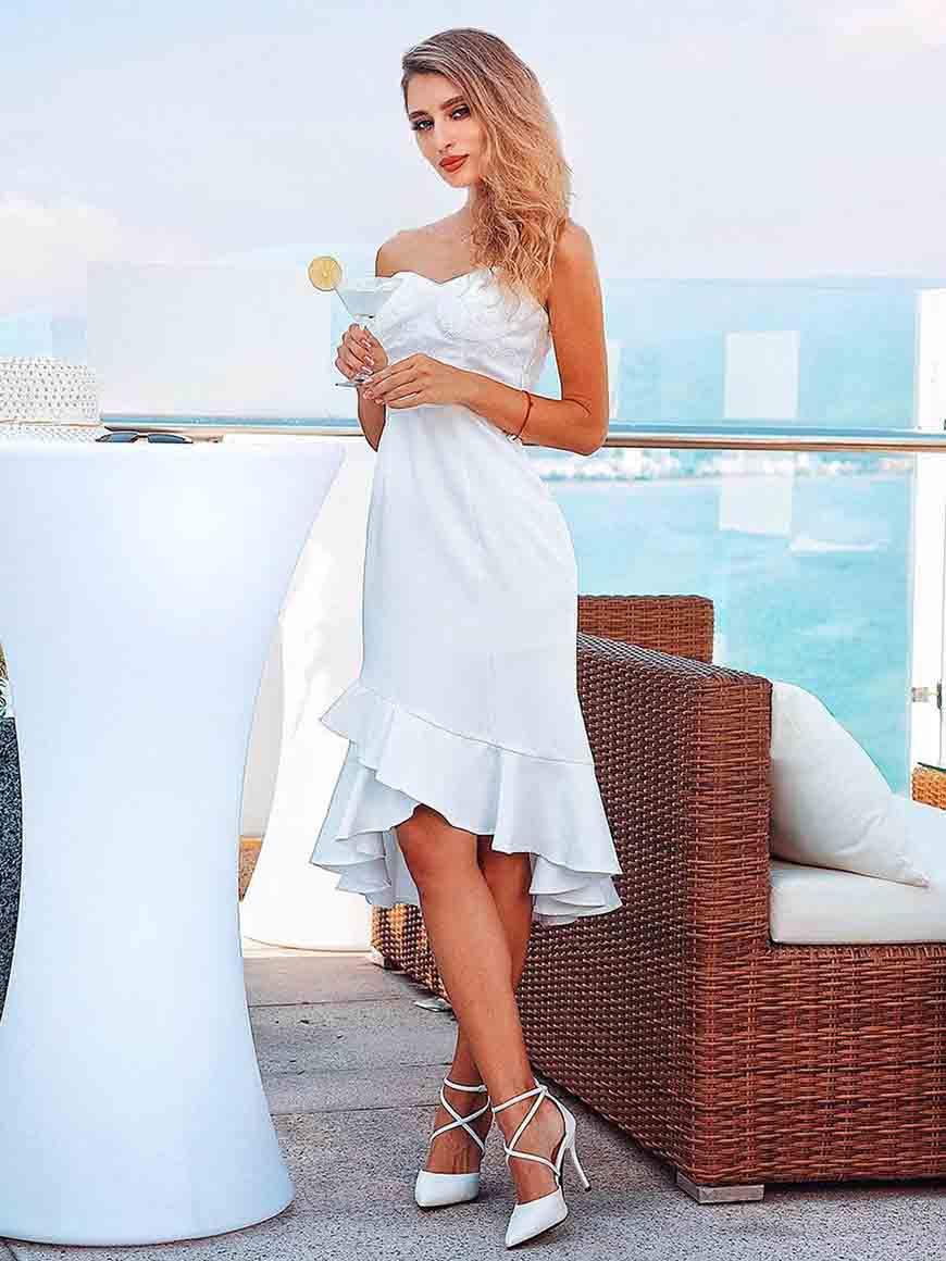 strapless-white-dress