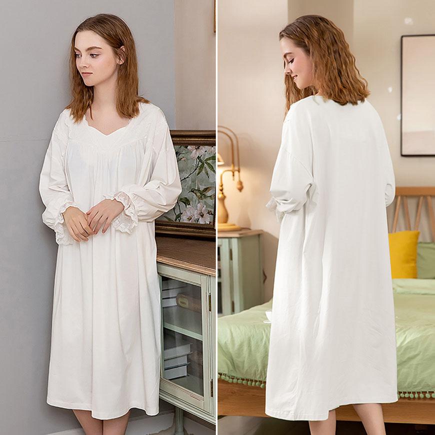 a-girl-wearing-the-white-pajamas