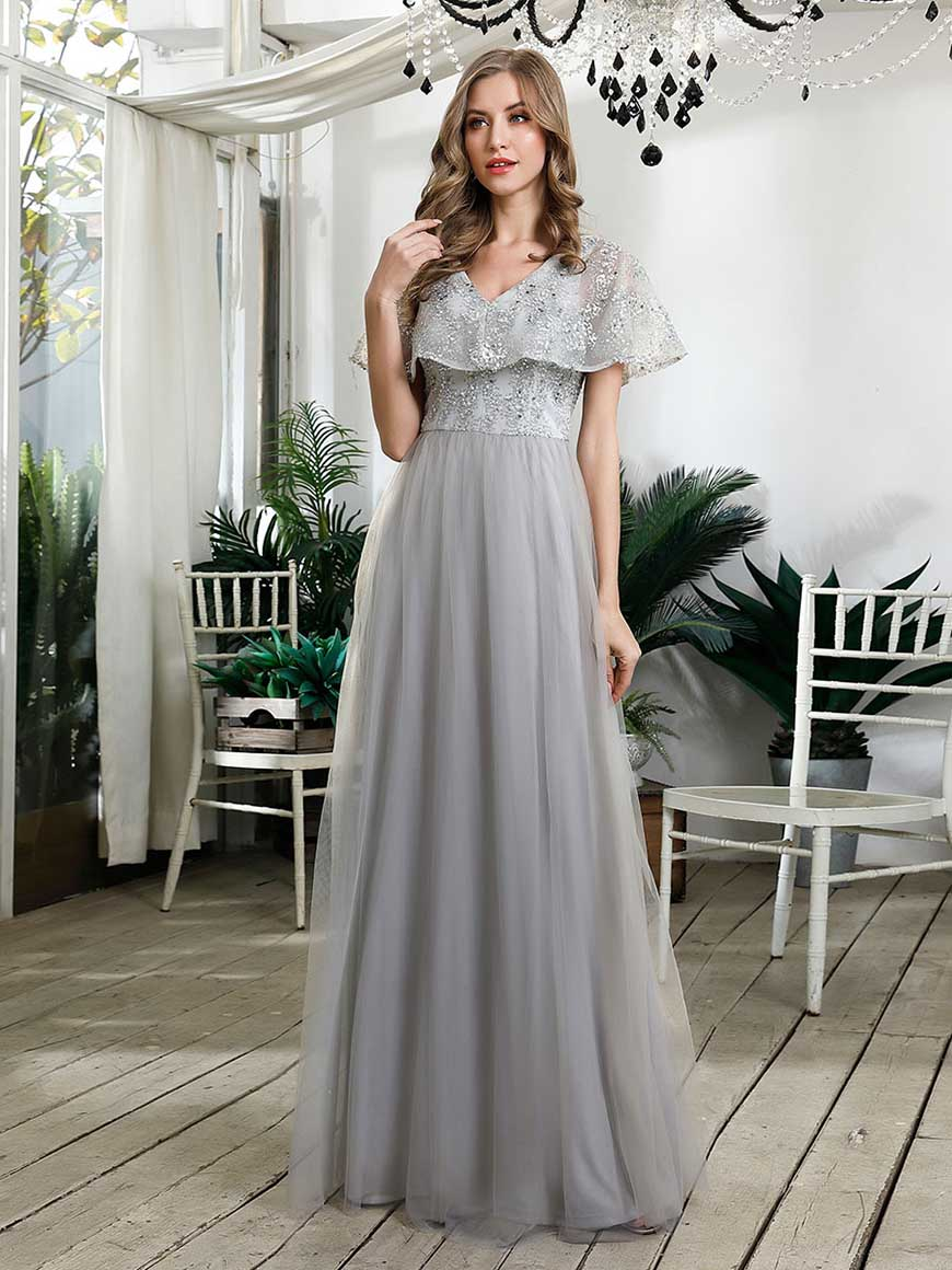 a-grey-bridesmaid-dress