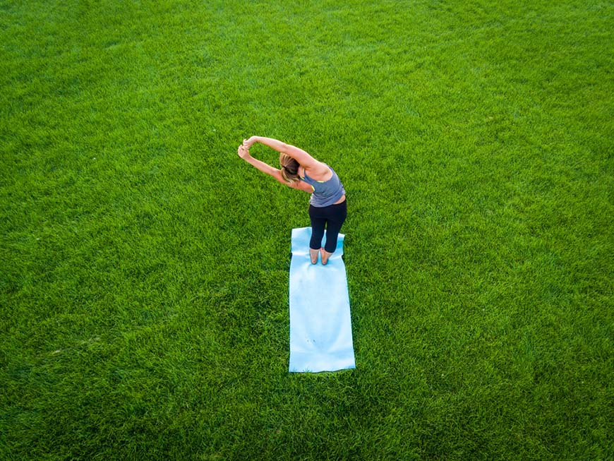 a-woman-is-doing-yoga