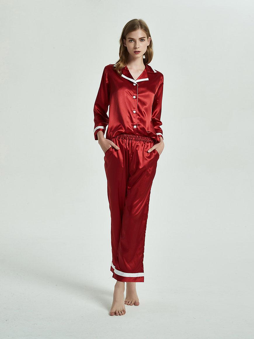 burgundy-pajamas