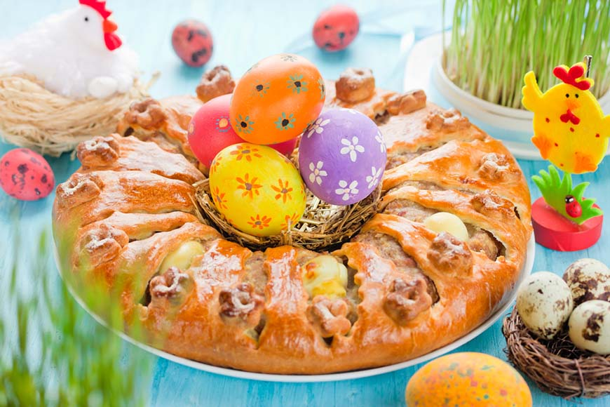 easter-eggs-and-food