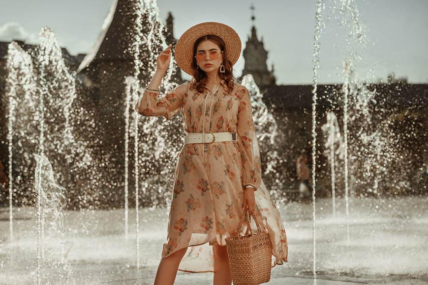 light-coffee-dress