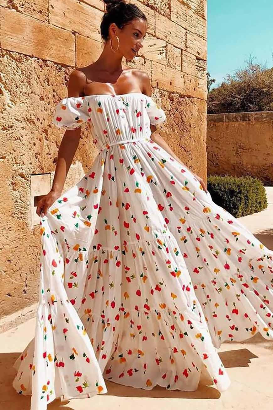 off-shoulder-white-dress