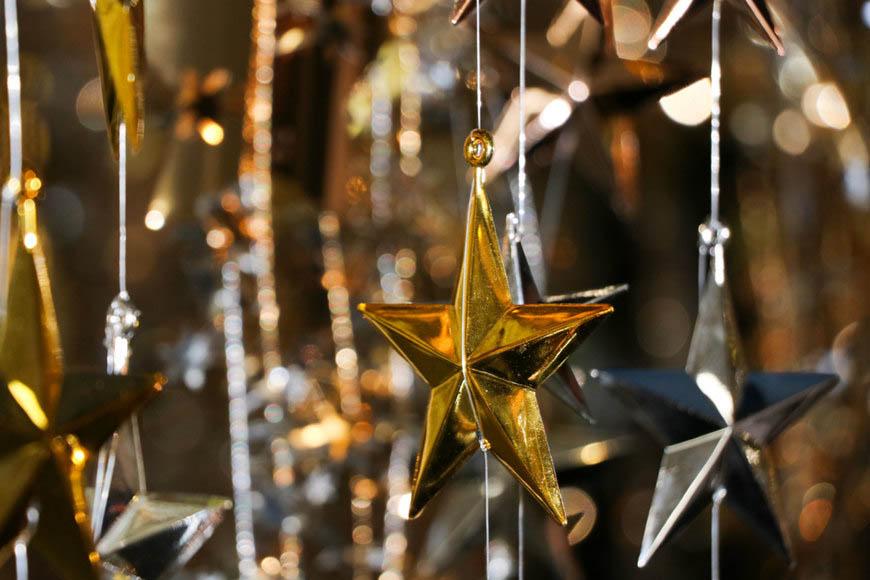 décoration étoile de mariage