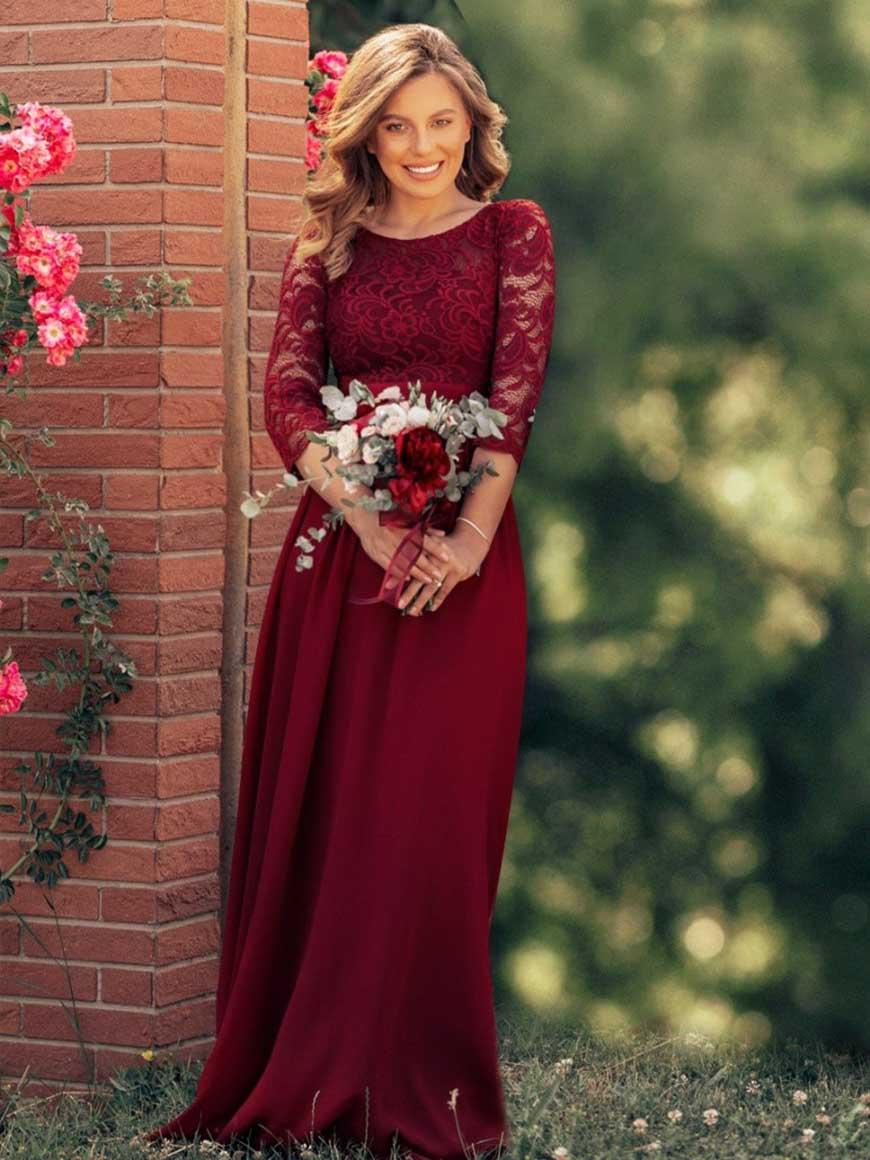 a-burgundy-lace-evening-dress